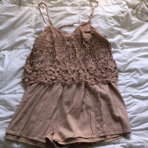 Beautiful AE Blush Romper